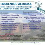 Sábado 9 de febrero invitación excursión medioambientalista por el río Gállego