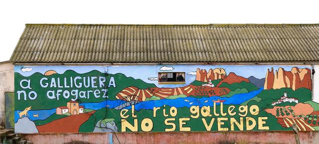Los ayuntamientos de Murillo, Santa Eulalia de Gállego y Biscarrués rechazan la firma del protocolo para Biscarrués.