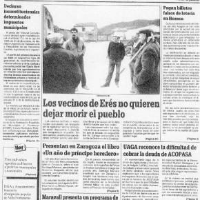 29 aniversario de lucha contra el pantano