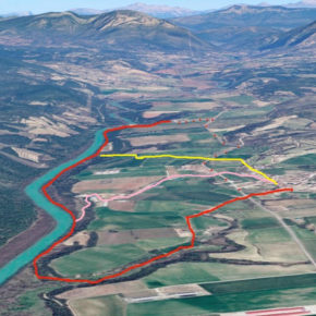 Sendero botánico: Biscarrués - Sotos del Río Gállego - Erés - Tumbas Romanas