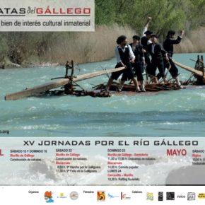 XV Jornadas por el río Gállego 2017- 16, 17, 22 y 23 de abril y 6 de mayo