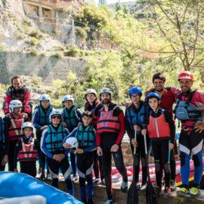 Éxito del rafting solidario y fluviofeliz en Murillo de Gállego- XV Jornadas por el río Gállego