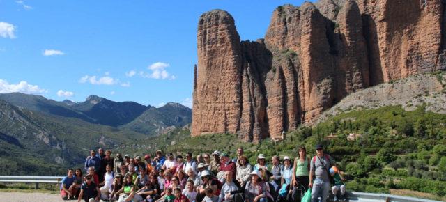 Éxito de la jornada de plantas medicinales en Riglos - Jornadas río Gállego