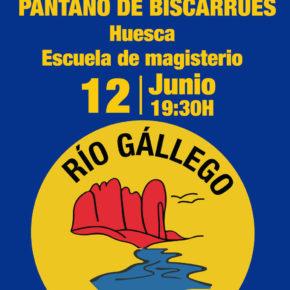 Nota de Prensa Charla Informativa sobre Pantano de Biscarrués el lunes 12 de Junio en Huesca