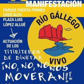 Manifestación en Huesca,