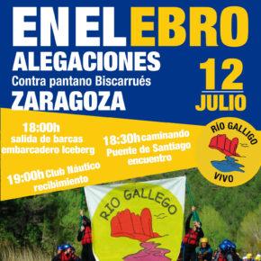 Bajada de alegaciones a Zaragoza - 12 de Julio