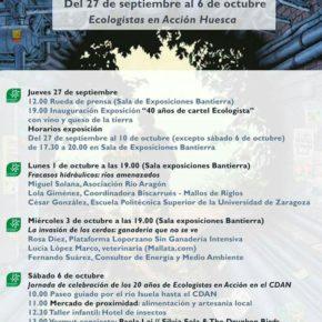 La Coordinadora participa en el XX aniversario de Ecologistas en Acción Huesca